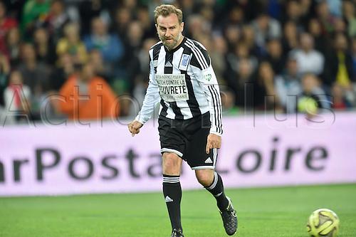 20.04.2015. St Etienne, France. 12th Football Match against Poverty took place in Saint-Etienne, France.  Karel Poborsky (team Zidane)
