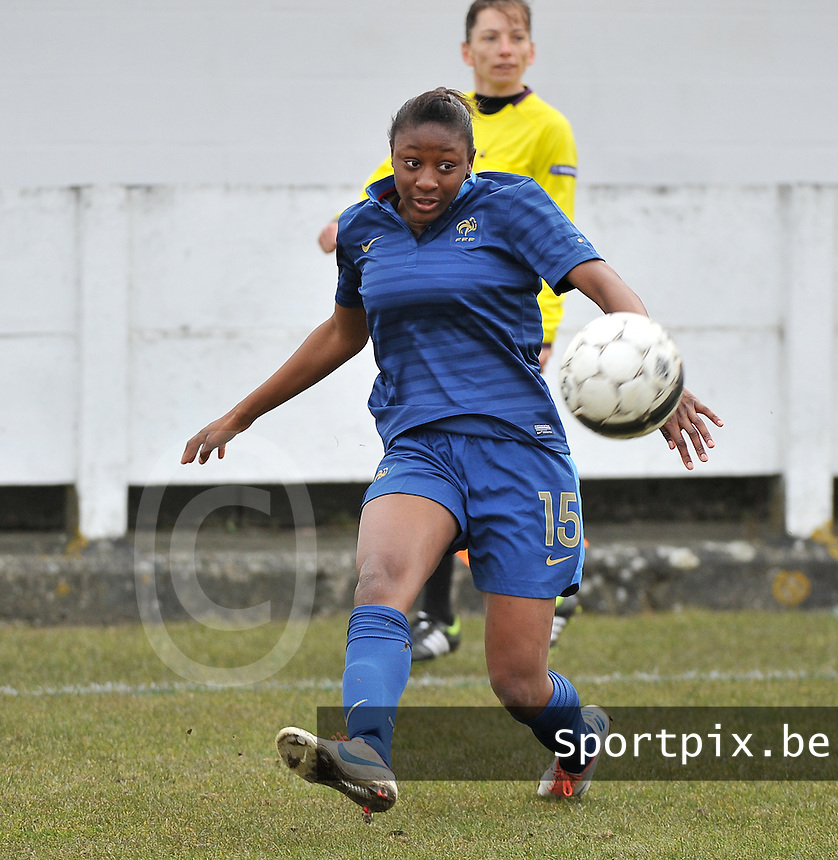 France U19 - Russia U19 : Kadidiatou Diani.foto DAVID CATRY / Nikonpro.be