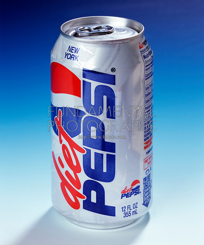 METRIC CONVERSION ON PEPSI COLA CAN<br /> Twelve Ounces Equals 355 ml<br /> Diet Pepsi contains aspartame which contains phenylalanine
