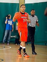 April 10, 2011 - Hampton, VA. USA;  Joe McDonald participates in the 2011 Elite Youth Basketball League at the Boo Williams Sports Complex. Photo/Andrew Shurtleff
