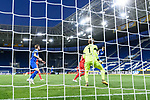 Christoph Baumgartner (Hoffenheim) schiesst das Tor zum 2-0 gegen Torwart Timo Horn (1. FC Koeln).<br /> <br /> Sport: Fussball: 1. Bundesliga: Saison 19/20: 28. Spieltag: TSG 1899 Hoffenheim - 1. FC Koeln, 27.05.2020<br /> <br /> Foto: Markus Gilliar/GES/POOL/PIX-Sportfotos.<br /> <br /> Nur für journalistische Zwecke! Only for editorial use!<br /> <br /> Gemäß den Vorgaben der DFL Deutsche Fußball Liga ist es untersagt, in dem Stadion und/oder vom Spiel angefertigte Fotoaufnahmen in Form von Sequenzbildern und/oder videoähnlichen Fotostrecken zu verwerten bzw. verwerten zu lassen. DFL regulations prohibit any use of photographs as image sequences and/or quasi-video.