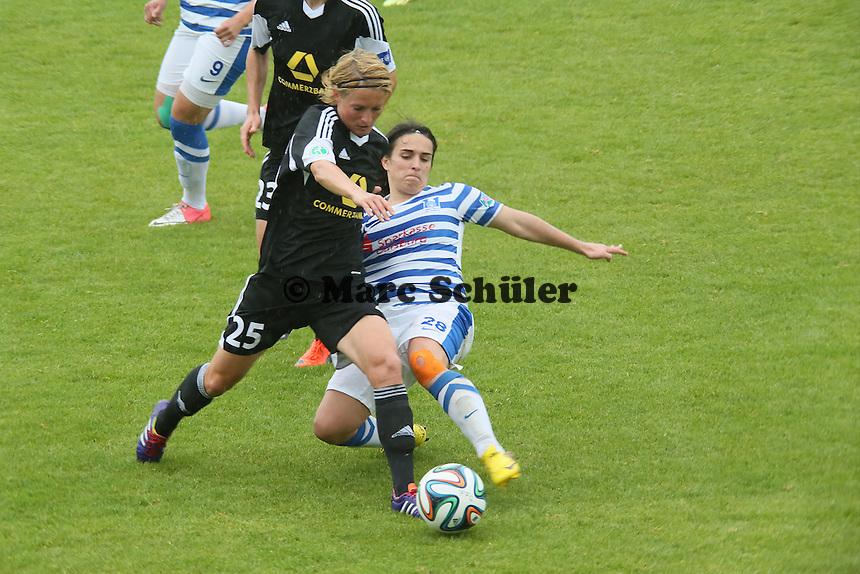 Saskia Bartusiak (FFC) gegen Luis Ramos (MSV) - 1. FFC Frankfurt vs. MSV Duisburg