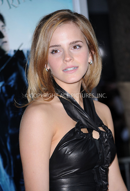 WWW.ACEPIXS.COM . . . . .  ....July 9 2009, New York City....Actress Emma Watson at the New York premiere of 'Harry Potter and the Half-Blood Prince' at Ziegfeld Theatre on July 9, 2009 in New York City....Please byline: KRISTIN CALLAHAN - ACE PICTURES.... *** ***..Ace Pictures, Inc:  ..tel: (212) 243 8787 or (646) 769 0430..e-mail: info@acepixs.com..web: http://www.acepixs.com