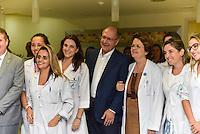 CAMPINAS,SP, 14.02.2017 - ALCKMIN - O Governador Geraldo Alckmin, PSDB, inaugurou o Serviço de Hidroterapia do Programa de Reabilitação em Câncer da Rede Lucy Montoro, descerrou a Placa do Departamento Regional de Saúde, lançou editais do BID para construção de UBS na região de Campinas, descerrou as placas da 1ª e 2ª D.D.M, nesta terça-feira, 14, em Campinas, interior de São Paulo. (Foto: Mauricio Bento/Brazil Photo Press)