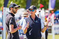 ESNZ HP Eventing Manager, Graeme Thom with Clarke Johnstone: Showjumping for the Mitsubishi CCI5*. 2019 AUS-Mitsubishi Motors Australian International 3 Day Event. Victoria Park. Adelaide. South Australia. Sunday 17 November. Copyright Photo: Libby Law Photography