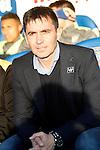 CD Leganes' coach Asier Garitano during La Liga match. February 25,2017. (ALTERPHOTOS/Acero)