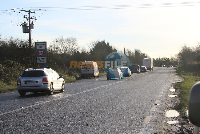 One of the New GO SAFE speed cameras in operation on the N1 at Painstown near the glenside Hotel..Picture Fran Caffrey/www.newsfile.ie..