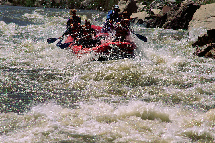 Rafting on the Arkansas River   COLORADO