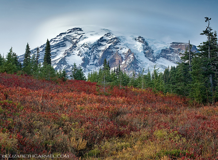 Mount Ranier in Autumn
