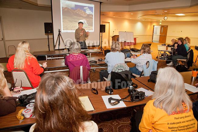 Craig Moore presents Understanding your Digital Camera at Shooting the West XXIV, WInnemucca, Nevada