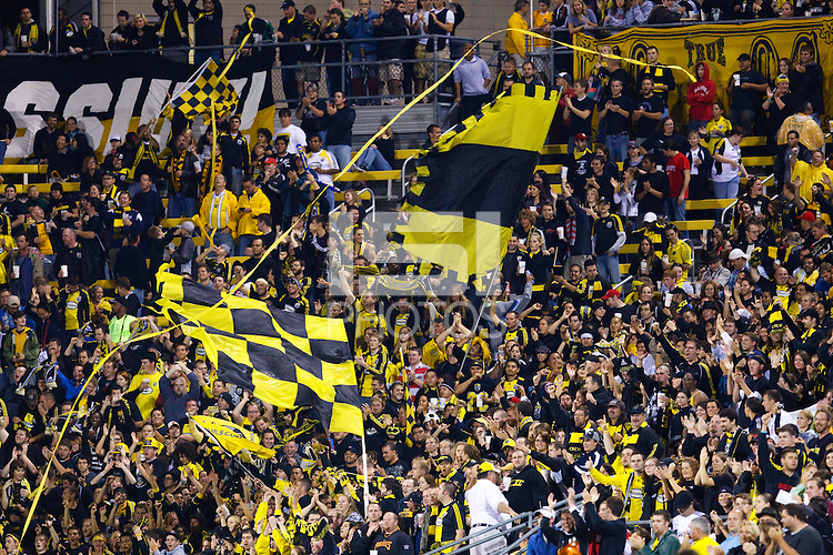 26 SEPTEMBAR 2009:  Crew supports during the Los Angeles Galaxy at Columbus Crew MLS game in Columbus, Ohio on May 27, 2009.