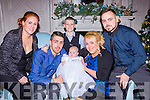 Emily Looney, Muckross Grove, Killarney who celebrated her christening with her parents Cian Breen and Danielle Looney, big brother Colin  and god parents Nicole Roder and Dylan sheehan in the Killarney Avenue Hotel on Saturday