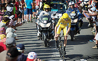 Chris Froome (GBR/SKY)<br /> <br /> Stage 18 (ITT) - Sallanches &rsaquo; Meg&egrave;ve (17km)<br /> 103rd Tour de France 2016