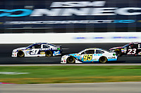 July 16, 2017 - Loudon, New Hampshire, U.S. -  Michael McDowell, Monster Energy NASCAR Cup Series driver of the WRL General Contractors Chevrolet (95), races at the NASCAR Monster Energy Overton's 301 race held at the New Hampshire Motor Speedway in Loudon, New Hampshire. Eric Canha/CSM