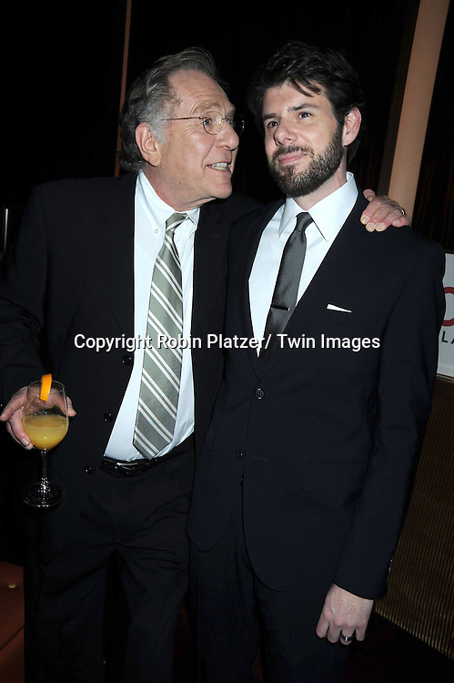 "George Segal and Johnathan McClain attending Betty White's 89th Birthday party given by TV Land and the cast of ""Hot in Cleveland"" on January 18, 2011 at .Le Cirque in New York City."