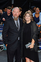 LONDON, ENGLAND - SEPTEMBER 26: Mike Williams and Felicia Williams attending the 'Deepwater Horizon' European Premiere at Cineworld, Leicester Square on September 26, 2016 in London, England.<br /> CAP/MAR<br /> &copy;MAR/Capital Pictures /MediaPunch ***NORTH AND SOUTH AMERICAS ONLY***