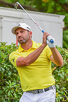 Sergio Garcia (ESP) watches his tee shot on 15 during round 4 of the Dean &amp; Deluca Invitational, at The Colonial, Ft. Worth, Texas, USA. 5/28/2017.<br /> Picture: Golffile | Ken Murray<br /> <br /> <br /> All photo usage must carry mandatory copyright credit (&copy; Golffile | Ken Murray)