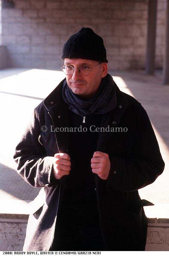 2000: RODDY DOYLE, WRITER © Leonardo Cendamo
