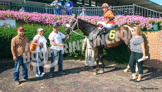 Hobbs winning at Delaware Park on 8/26/15