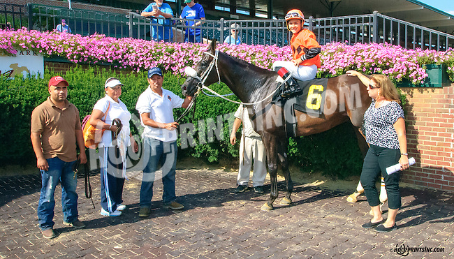 Hobbs winning at Delaware Park on 8/26/15