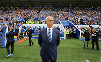 Pictured: Leicester manager Claudio Ranieri Saturday 27 August 2016<br />Re: Swansea City FC v Leicester City FC Premier League game at the King Power Stadium, Leicester, England, UK