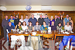Enjoying her 50th birthday was Eileen Hartnett from Listowel, pictured here centre celebrating with many family and friends last Saturday night in Leen's Hotel, Abbeyfeale.