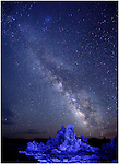 Milky Way &amp; Mono Lake<br />