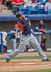 5 March 2016: Detroit Tigers outfielder J.D. Martinez in action during a Spring Training pre-season game against the Washington Nationals at Space Coast Stadium in Viera, Florida. The Tigers fell to the Nationals 8-4 in Grapefruit League play. Mandatory Credit: Ed Wolfstein Photo *** RAW (NEF) Image File Available ***