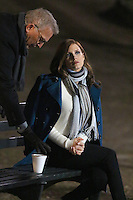 www.acepixs.com<br /> <br /> January 30 2017, New York City<br /> <br /> Actors Kevin Costner and Jessica Chastain were on the Central Park set of the new movie 'Molly's Game' on January 30 2017 in New York City<br /> <br /> By Line: Zelig Shaul/ACE Pictures<br /> <br /> <br /> ACE Pictures Inc<br /> Tel: 6467670430<br /> Email: info@acepixs.com<br /> www.acepixs.com