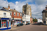 The Bell Tower at Beccles, Suffolk, England