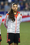24 October 2014: Luz Duarte (MEX). The United States Women's National Team played the Mexico Women's National Team at PPL Park in Chester, Pennsylvania in a 2014 CONCACAF Women's Championship semifinal game, which serves as a qualifying tournament for the 2015 FIFA Women's World Cup in Canada. The United States won the game 3-0. With the victory the U.S. advanced to the championship game and qualified for next year's Women's World Cup.