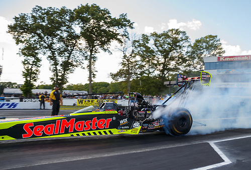 NHRA Mello Yello Drag Racing Series<br /> NHRA Summernationals<br /> Old Bridge Township Raceway Park, Englishtown, NJ USA<br /> Friday 9 June 2017 Troy Coughlin Jr, SealMaster, top fuel dragster<br /> <br /> World Copyright: Mark Rebilas<br /> Rebilas Photo