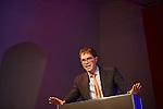BERLIN, 29.5.2016. Präsentation der Ergebnisse des ersten Jahres Dialogperspektiven: Religionen und Weltanschauungen im Gespräch im Jüdischen Museum Berlin.  Rabbi Yehuda Sarna (Photo by Gregor Zielke)