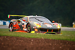 Clearwater Racing, #61 Ferrari 488 GT3, driven by Mok Wen Sun, Keita Sawa and Matt Griffin in action during Asian LMS Qualifying (GT, GT Cup) of the 2016-2017 Asian Le Mans Series Round 1 at Zhuhai Circuit on 29 October 2016, Zhuhai, China.  Photo by Marcio Machado / Power Sport Images