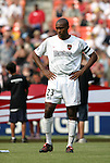 3 July 2004: MetroStars team captain Eddie Pope before the game. DC United defeated the MetroStars 6-2 at RFK Stadium in Washington, DC during a regular season Major League Soccer game..