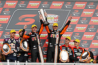 2016 Supercheap Auto Bathurst 1000. Round 2 of the Pirtek Enduro Cup. Race winners #19. Will Davison (AUS) Jonathon Webb (AUS). Team Darrell Lea STIX. Holden Commodore VF.