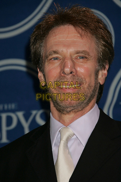 "JERRY BRUCKHEIMER.producer, winner of Best Sports Movie for ""Glory Road""..2006 ESPY Awards held at the Kodak Theatre, Hollywood, California, USA..July 12th, 2006.Photo: Russ Elliot/AdMedia/Capital Pictures.Ref: RE/ADM.headshot portrait.www.capitalpictures.com.sales@capitalpictures.com.© Capital Pictures."
