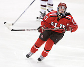 Kayla Sullivan (St. Lawrence - 13) - The visiting St. Lawrence University Saints defeated the Boston College Eagles 4-0 on Friday, January 15, 2010, at Conte Forum in Chestnut Hill, Massachusetts.