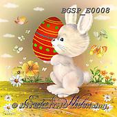 Skarlett, EASTER, OSTERN, PASCUA, paintings+++++,BGSPE0008,#e# ,rabbit ,eggs