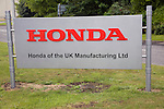 Honda car factory, Swindon, England