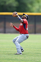 Boston Red Sox minor league outfielder Franklin Guzman (28) during an extended spring training game against the Tampa Bay Rays on April 16, 2014 at Charlotte Sports Park in Port Charlotte, Florida.  (Mike Janes/Four Seam Images)