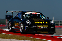 Porsche GT3 Cup Challenge USA<br /> Advance Auto Parts SportsCar Showdown<br /> Circuit of The Americas, Austin, TX USA<br /> Saturday 6 May 2017<br /> 3, Trenton Estep, GT3P, USA, 2017 Porsche 991<br /> World Copyright: Jake Galstad<br /> LAT Images