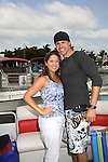 The Young and The Restless  John Driscoll and girlfriend Beth - Celebrities take a break and enjoy themselves on the pontoon boat - SWSL Soapfest Charity Weekend May 14 & 15, 2011 benefitting several children's charities including the Eimerman Center providing educational & outfeach services for children for autism. see www.autismspeaks.org. (Photo by Sue Coflin/Max Photos)