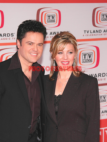 Donny Osmond and wife Debbie