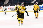 Stockholm 2014-11-16 Ishockey Hockeyallsvenskan AIK - IF Bj&ouml;rkl&ouml;ven :  <br /> AIK:s Jordan Hendry deppar under matchen mellan AIK och IF Bj&ouml;rkl&ouml;ven <br /> (Foto: Kenta J&ouml;nsson) Nyckelord:  AIK Gnaget Hockeyallsvenskan Allsvenskan Hovet Johanneshov Isstadion Bj&ouml;rkl&ouml;ven L&ouml;ven IFB depp besviken besvikelse sorg ledsen deppig nedst&auml;md uppgiven sad disappointment disappointed dejected