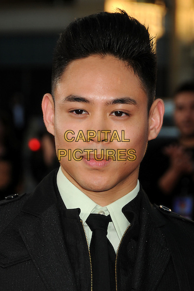 """Justin Valles.""""Step Up Revolution"""" Los Angeles Premiere held at Grauman's Chinese Theatre, Hollywood, California, USA..July 17th, 2012.headshot portrait black white .CAP/ADM/BP.©Byron Purvis/AdMedia/Capital Pictures."""