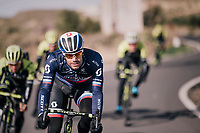 Slovakian National Champion Luka Mezgec (SVK/Michelton-Scott) at the Michelton-Scott training camp in Almeria, Spain<br /> february 2018