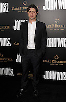 www.acepixs.com<br /> <br /> January 30 2017, LA<br /> <br /> Riccardo Scamarcio arriving at the premiere of 'John Wick: Chapter Two' on January 30, 2017 in Hollywood, California.<br /> <br /> By Line: Peter West/ACE Pictures<br /> <br /> <br /> ACE Pictures Inc<br /> Tel: 6467670430<br /> Email: info@acepixs.com<br /> www.acepixs.com