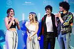 Andrea Guasch, Nerea Rodriguez, Javier Ambrossi and Javier Calvo during presentation of new cast of 'La Llamada' theater show at Teatro Lara in Madrid, Spain. May 24, 2018. (ALTERPHOTOS/Borja B.Hojas)