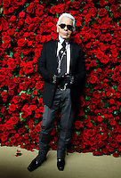 UNITED STATES, NEW YORK,  November 15, 2011..Designer Karl Lagerfeld attends the 4th Annual Film benefit 'A Tribute to Pedro Almodovar' at the Museum of Modern Art  in New York November 15, 2011. VIEWpress /Kena Betancur..